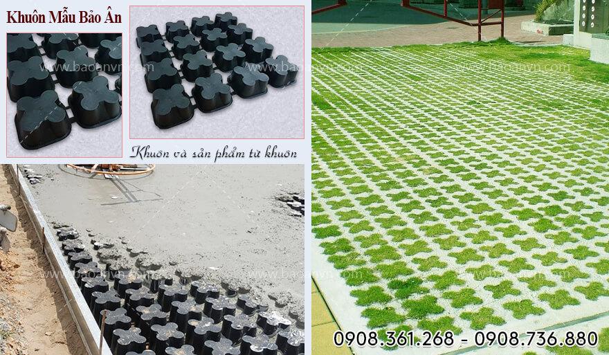 Khuôn trồng cỏ 25 ô