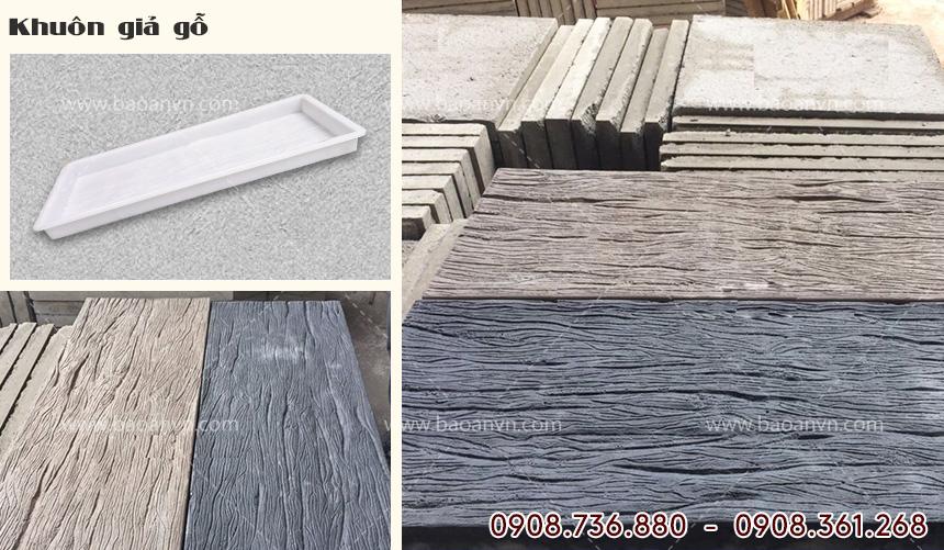 Khuôn gạch giả gỗ