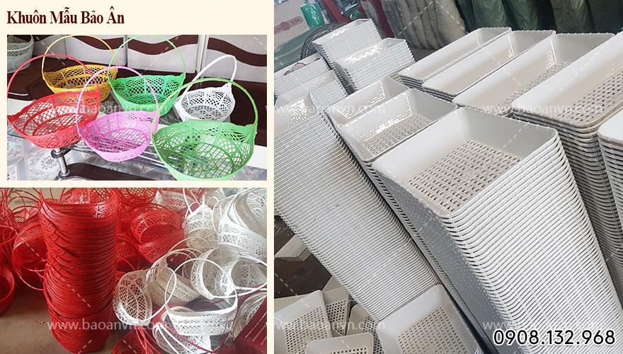 giỏ nhựa gói quà 2021