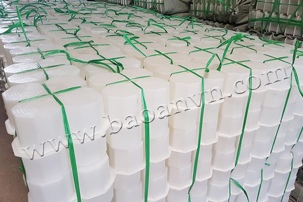 Sản xuất khuôn trồng cỏ bông mai tại xưởng