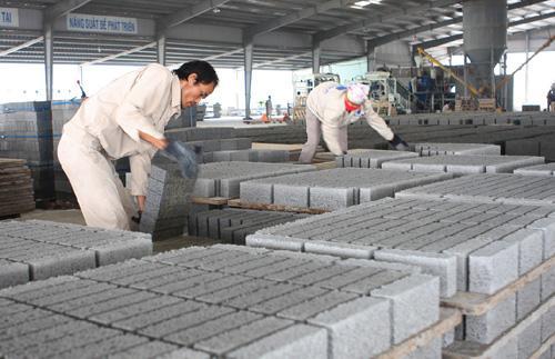 Sản xuất gạch không nung