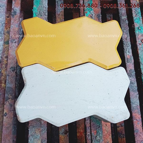 Khuôn gạch ziczac 6cm nhám - Mã  001001