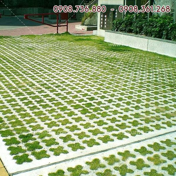 Khuôn gạch trồng cỏ 25 ô 15cm - Mã 004064