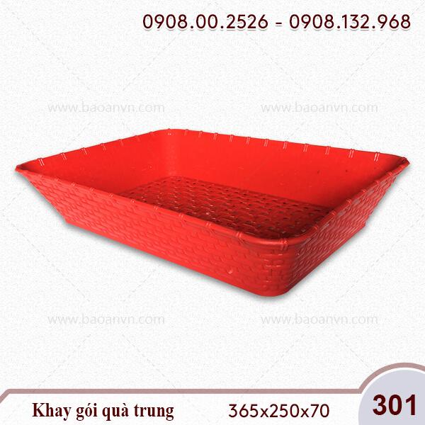 Mã 301. Khay gói quà trung