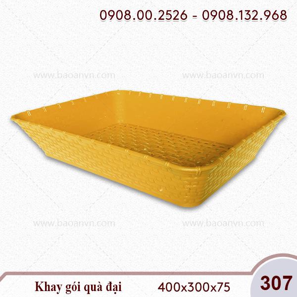 Mã 307. Khay gói quà đại