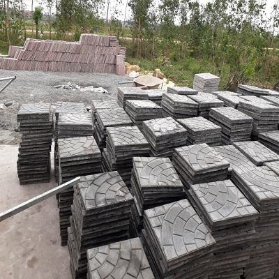 Khuôn gạch rẻ quạt 5 vòng 300x300x30 - Mã 002035