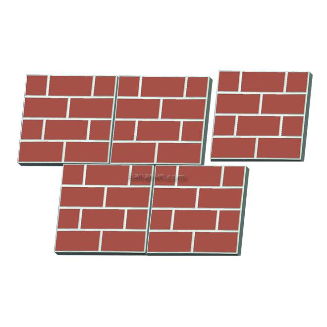 Khuôn tường gạch 300x300x40 - Mã 002058