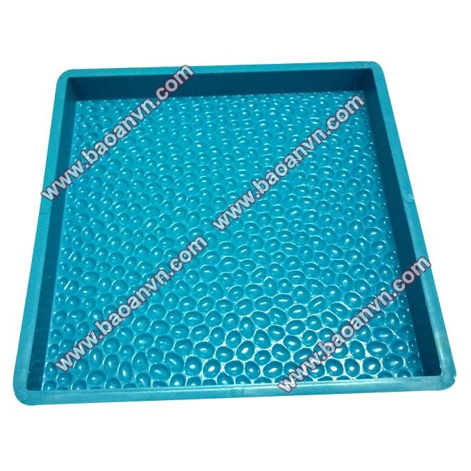 Khuôn gạch sỏi 400x400 dày 4cm - Mã 002055