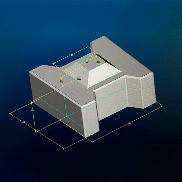 Thiết kế khuôn đổ gạch bê tông theo yêu cầu