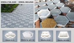 5 loại khuôn nhựa đúc gạch bê tông phổ biến năm 2021
