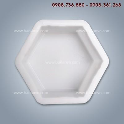 Khuôn gạch lục giác 8cm - Mã 001100