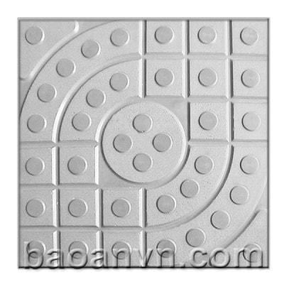 Khuôn gạch terrazzo mắt nai chấm bi - Mã 002027